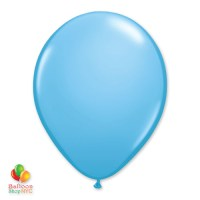 Pale Blue Latex Party Balloon 12 inch Inflated delivery Balloon Shop NYC