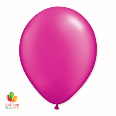 Magenta Pearl Latex Party Balloon 12 Inch delivery Balloon Shop NYC