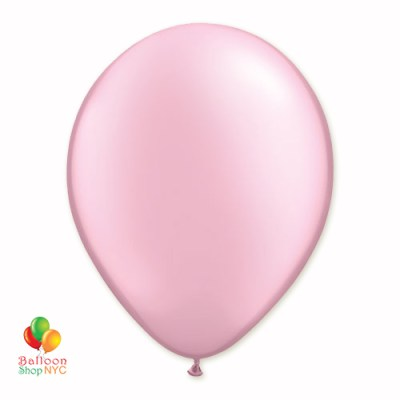 Pink Pearl Latex Party Balloon 12 inch Inflated delivery Balloon Shop NYC