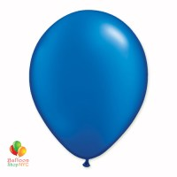 Sapphire Blue Pearl Latex Party Balloon 12 Inch delivery Balloon hop NYC