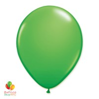 Spring Green Latex Party Balloon 12 inch Inflated delivery Balloon Shop NYC