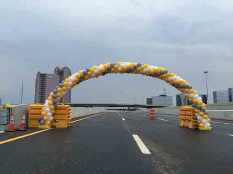635 balloon arch
