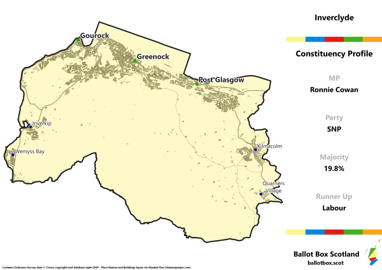 Inverclyde Constituency Map