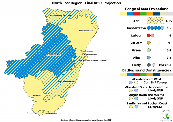 Final Projection - North East