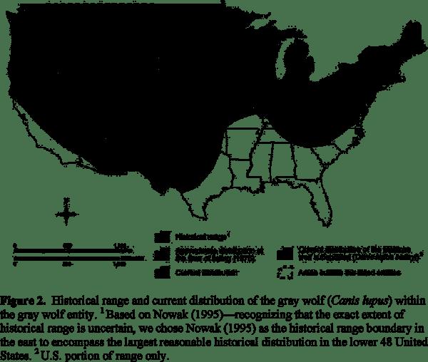 Canislupus Map - Federal Register.png
