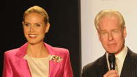 "Heidi Klum and Tim Gunn ""Project Runway"""