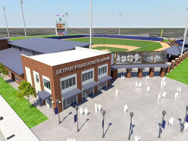 Tiger Stadium redevelopment plan