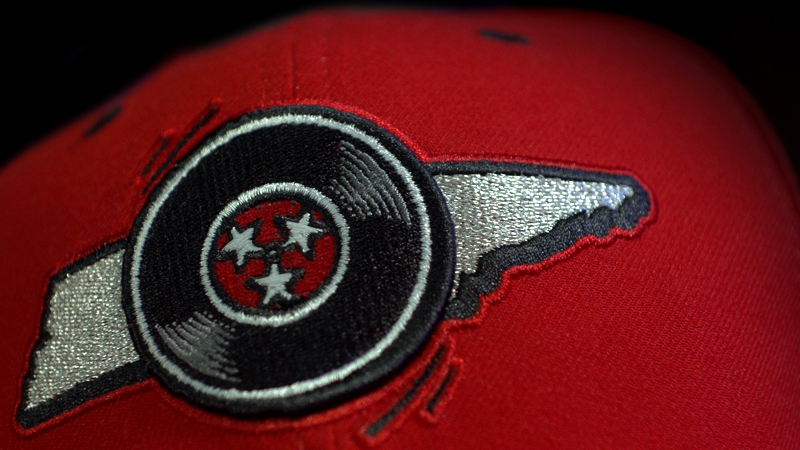 Nashville Sounds red hat