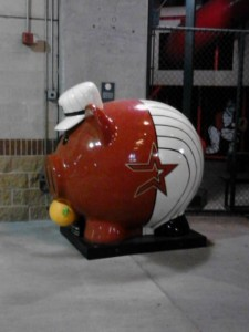 The Astros are set to stuff their piggy bank with dynamic pricing this season that will make certain games more valueble than others based solely on who the visiting team is and what day of the week the game falls on. Photo R. Anderson
