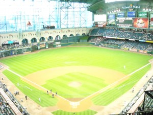 Minute Maid Park will be the site of the first game of the 2013 Major League Baseball season. Photo R Anderson
