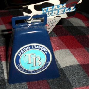 With the baseball season approaching I am in the mood for more cowbell. Photo R. Anderson