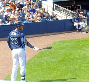 Former Tampa Bay Rays first baseman Carlos Pena will be the first full time designated hitter in Houston Astros history.  Photo R. Anderson