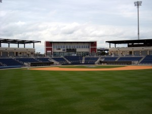 Bayfront Stadium in Pensacola, FL. is another one of the ballparks I just can't get enough of. Photo R. Anderson