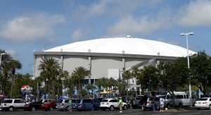 The Rays have been winning away from home for over two weeks. They finally will come back to the Trop on October 7th. Photo R. Anderson