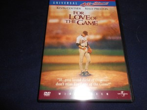 The number 8 movie on the Triple B totally subjective top 10 countdown of baseball movies is For Love of the Game starring Kevin Costner. Photo R. Anderson