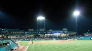 Tracy McGrady is trading in the arenas of the NBA for the Ballparks of the Atlantic League as a member of the Sugar Land Skeeters. Photo R. Anderson