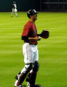 Catcher Jason Castro of the Houston Astros was named to his first All-Star Game last season. Photo R. Anderson
