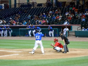 Koby Clemens enters his second full season as a member of the Sugar Land Skeeters. Photo R. Anderson