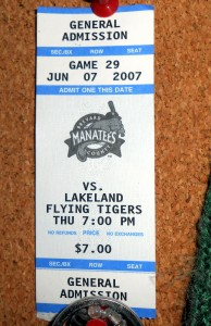 For years the Brevard County Manatees have given their fans much entertainment with each ticket. Soon fans along the Space Coast may have to travel inland to catch their team. Photo R. Anderson