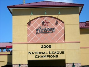 The next time I visit Osceola County Stadium, Spring training home of the Houston Astros, will feel a little different following the death of a friend and partner in Astros commiseration. Photo R. Anderson