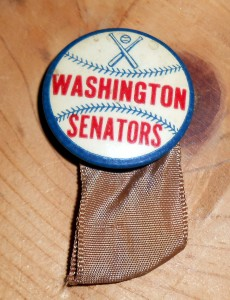 Although other Ballparks have been used for Presidential pitches, the home Ballparks of the Washington Senators and now the Washington Nationals hold the distinction of hosting the most presidents due to the proximity to the White House. Photo R. Anderson