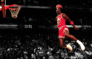 Michael Jordan's Iconic Dunk