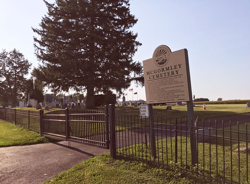 Ballville Township - MC GORMLEY CEMETERY