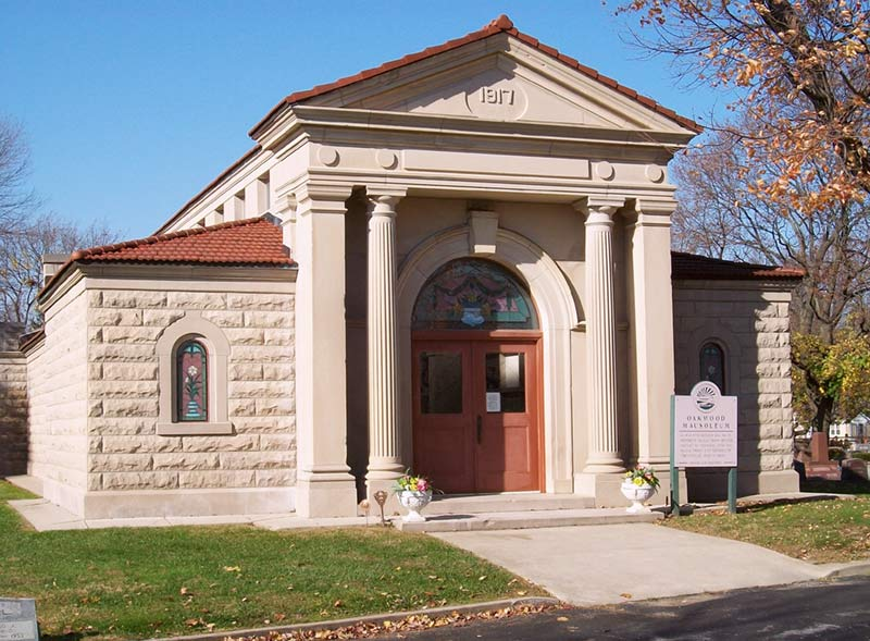 Ballville Township - OAKWOOD MAUSOLEUM