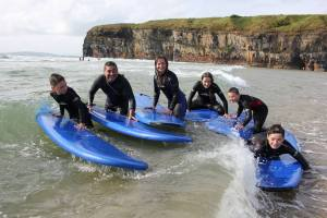 Private surf lessons for adults & teens.