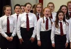 Press Eye © Belfast - Northern Ireland Photo by Freddie Parkinson / Press Eye © Wednesday 21st June 201 7 Ballyclare High School, Rashee Rd, Ballyclare BT39. Junior Concert.