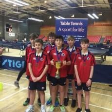 U13 Boys Ulster Champions– Conor Dargan, Alex Darrah, Max Gannon, Sebastian Kidd, Peter Baird & Caleb Crawford.