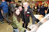 Picture by Freddie Parkinson Open Night Maths for Faye McCalmont of Kildride Primary School with Adam Young.