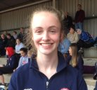 Issy McGrugan Ulster Silver medallist in 200, Bronze in 100 and Relay Bronze