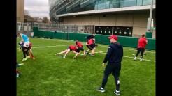 Training at Lansdowne