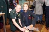 Sean Lynn NI Ambulance Services and Charlotte McCullough.