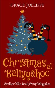book cover of Christmas in Ballyyahoo in a page about the Irish Words and Slang Used In Ballyyahoo
