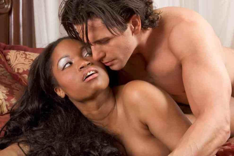 black women-white men