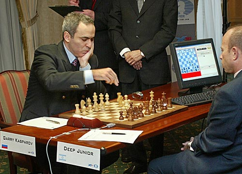 success formula kasparov vs deep junior
