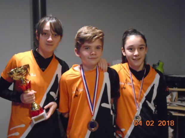 Balma Arc Club - Bressols - Podium Jeunes