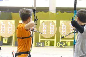Balma Arc Club - Championnat de ligue jeunes Carcassonne - Duel Charles Desgranges