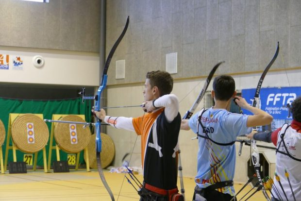Balma Arc Club - Championnat de ligue jeunes Carcassonne - Duel Clément Vigan