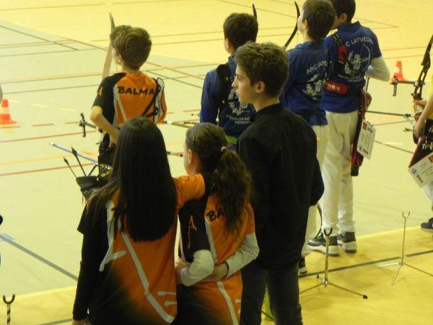 Balma Arc Club - Championnat de ligue jeunes Carcassonne - Groupies Ewen