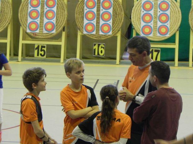 Balma Arc Club - Championnat de ligue jeunes Carcassonne - Préparation Duel