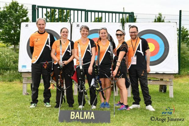 Balma Arc Club - Equipe D1 - Photo Ange Jimenez