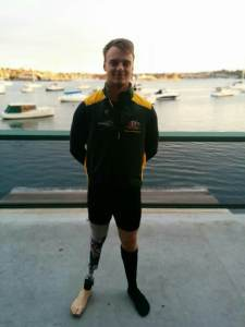 Paralympic Rower Jeremy McGrath