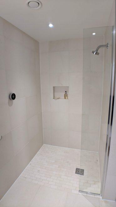 Ground floor en-suite with 'wet room' digital shower
