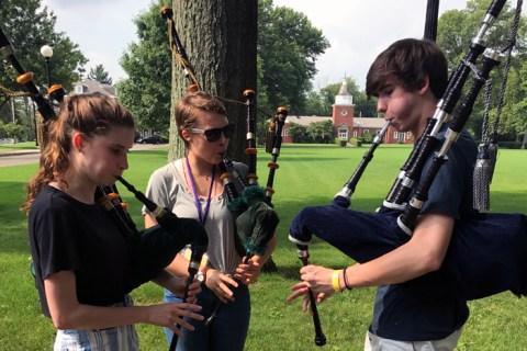 Students at a Balmoral Summer Session.