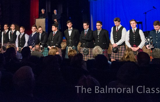 Bagpiping competition, Drumming competition, The Balmoral Classic 2017
