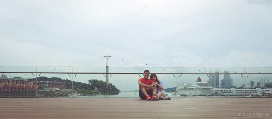 Ba Lô & Dép Lào tự sướng trên cầu