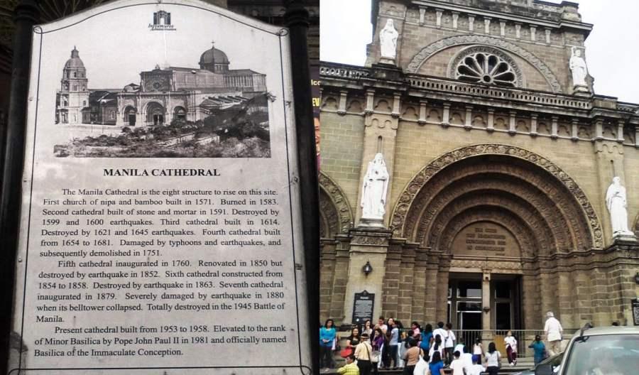Intramuros manila cathedral